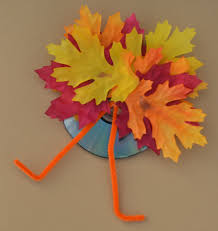 thanksgiving cd recycled cd turkey kid craft the resourceful