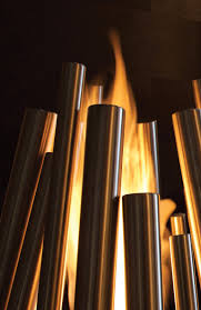 outdoor freestanding bioethanol fireplace stix by ecosmart fire