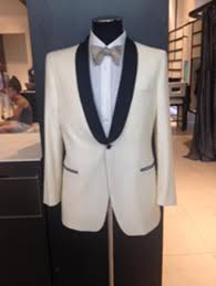 mens dress formal ivory cream off white dinner jacket