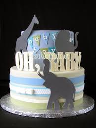 giraffe baby shower cake giraffe lion and elephant baby shower cake the cake attic