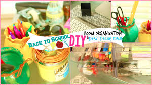 Easter Decorations For Office by Back To Diy Room Organization U0026 Desk Decor Ideas Youtube