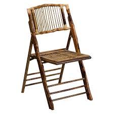 flash furniture american champion bamboo folding chair walmart com