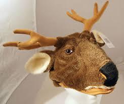 Deer Antlers Halloween Costume Deer Hat Halloween Costume Floppy Antlers Plush Moose