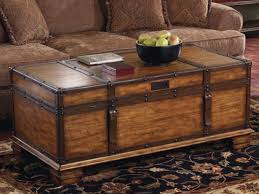 Coffee Tables Chest Wooden Chest Coffee Table Attractive Wood Trunk Coffee Table