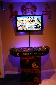 arcade wall man cave inspiration and essentials pinterest