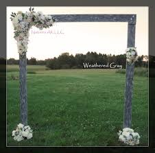 wedding arches outdoor wedding arch wedding arbor rustic wedding arch complete kit