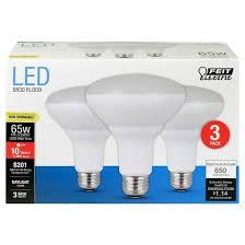 feit br30 65 watt led light bulb 3 pack 5000k soft white target