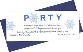 formal holiday party invitations