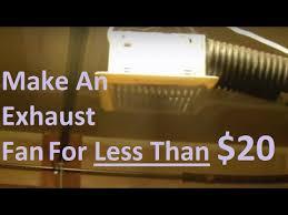 exhaust fan for welding shop fume extraction fan for under 20 youtube