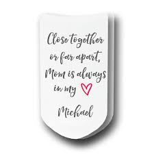 Personalized Pictures With Names Mom Is Always In My Heart Personalized With Name Ladies Socks