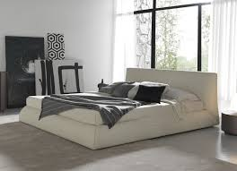 Small Bedroom With King Size Bed Ideas Bedroom Bedroom Interior Ivory Leather Low Profile Bed Frame