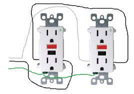 electrical how do i properly wire gfci outlets in parallel
