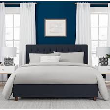 Zelen Bedroom Set Dimensions Wade Logan Littrell Upholstered Platform Bed U0026 Reviews Wayfair