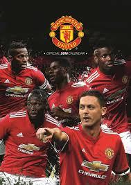 Manchester United Manchester United Fc A3 Calendar 2018 Calendar Club Uk