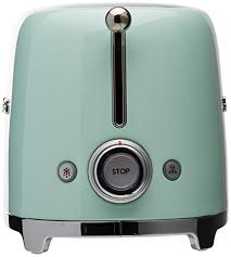 Toaster Retro 2 Slice Vintage Toaster Pastel Green By Smeg Great Home Decor Or