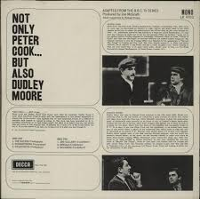 peter cook u0026 dudley moore not only peter cook but also dudley