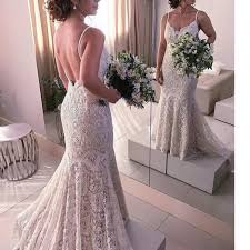 expensive wedding dresses wd777 expensive chic lace wedding dresses ivory spaghetti straps