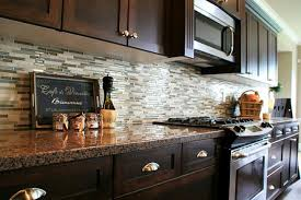 interior cool the kitchen back wall of ceramic tile backsplash
