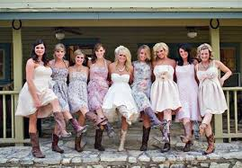 casual country wedding dresses country wedding dresses with cowboy boots 2013 inofashionstyle