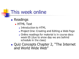 online html class cis101 introduction to computing week 06 agenda your questions