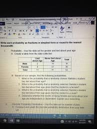 statistics and probability archive october 05 2017 chegg com