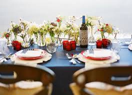 red and white table decorations for a wedding red white blue table decorations homes alternative 8560