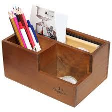 Wooden Desk Organizers Nc Wooden Office Desk Organizer Home Office Desk Supplies
