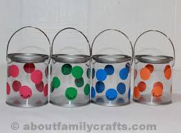 painted easter buckets polka dot easter buckets about family crafts