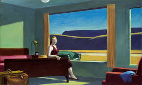 painting 11 a woman in the sun edward hopper 1961 shirley