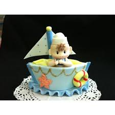 nautical cake toppers cold porcelain favors cake toppers picks cupcake toppers