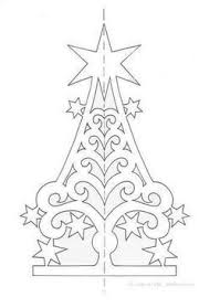 christmas tree silhouette 231x300 printable christmas templates