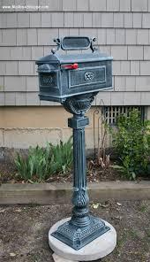 Pedestal Mailbox Traditional Mailbox 55