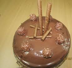 easy children recipes ferrero rocher chocolate cake