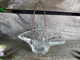 fostoria brides basket soap dish candy dish flower petal holder