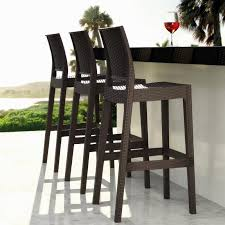 Rattan Bar Table Outdoor Bar Table And Stools Wicker Design Outdoor Bar Table And