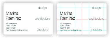 Thickness Of Business Card Business Card For An Architect Skillshare Projects