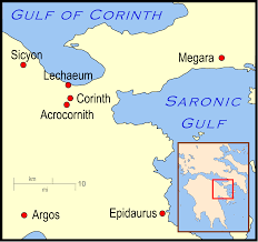 Greece On World Map by File Isthmus Of Corinth In Ancient Greece Svg Wikimedia Commons