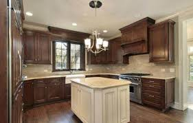 Two Color Kitchen Cabinets Italian Two Tone Kitchen Cabinets U2014 Home Design And Decor Best