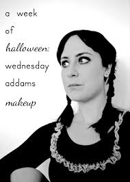 wednesday addams halloween costume a week of halloween wednesday addams makeup hello scarlett blog