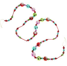 raz sprinkles 6 foot and bead glass garland