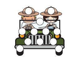safari binoculars clipart safari do a dot printables gift of curiosity