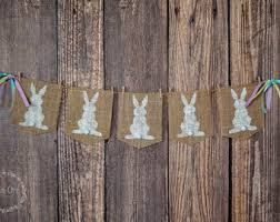 Easter Decorations Auckland by Happy Easter Bunting Banner Easter Banner Easter Bunting