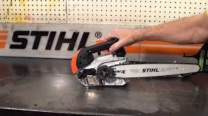 the chainsaw guy shop talk new stihl ms 150 tc chainsaw youtube