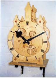 Free Wooden Clock Movement Plans by John Wilding Clocks
