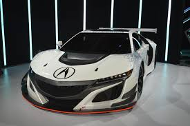 hybrid supercars 2017 acura nsx gt3 racecar ditches hybrid and awd systems