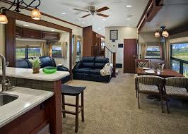 stunning lovely front kitchen 5th wheel montana interior home