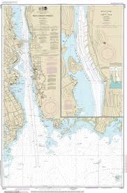 New London Ct Map Directory Nautical Connecticut