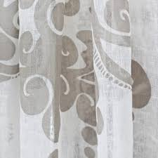 Ivory Linen Curtains Couture Dreams Enchantique Ivory Linen Window Curtain Window