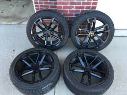 zl1 camaro tires fs fr zl1 10 spoke replicas gloss black wheels w tires camaro5
