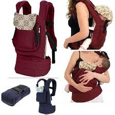 cotton baby carrier infant newborn comfort backpack buckle sling